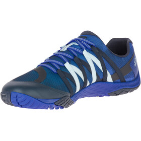 Merrell M's Trail Glove 4 Shoes Blue Sport